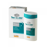 DR. MÜLLER Tea Tree Oil šampón proti lupinám 200 ml