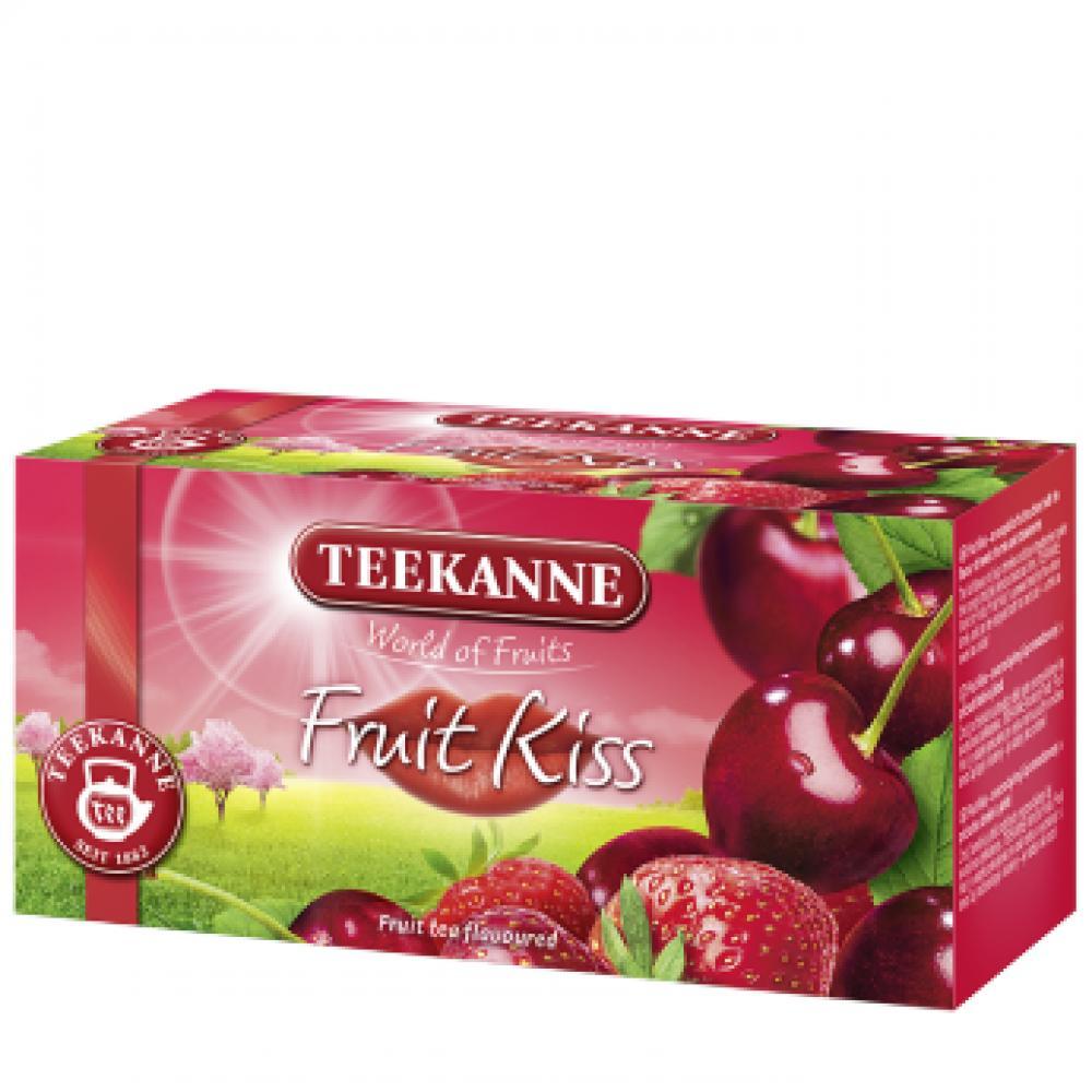 TEEKANNE FRUIT KISS ČEREŠŇA+JAHODA 20 X 2,5 G