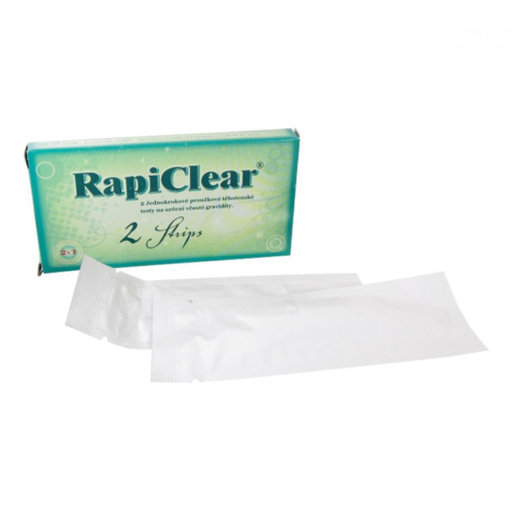 Tehotenský test RapiClear 2 Strip 2ks