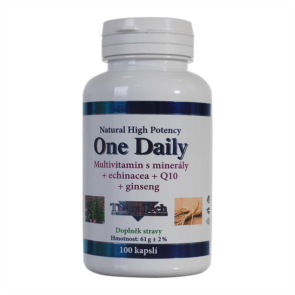 There 04 One Daily vitamíny + minerály + echinacea + Q10 100 kapslí