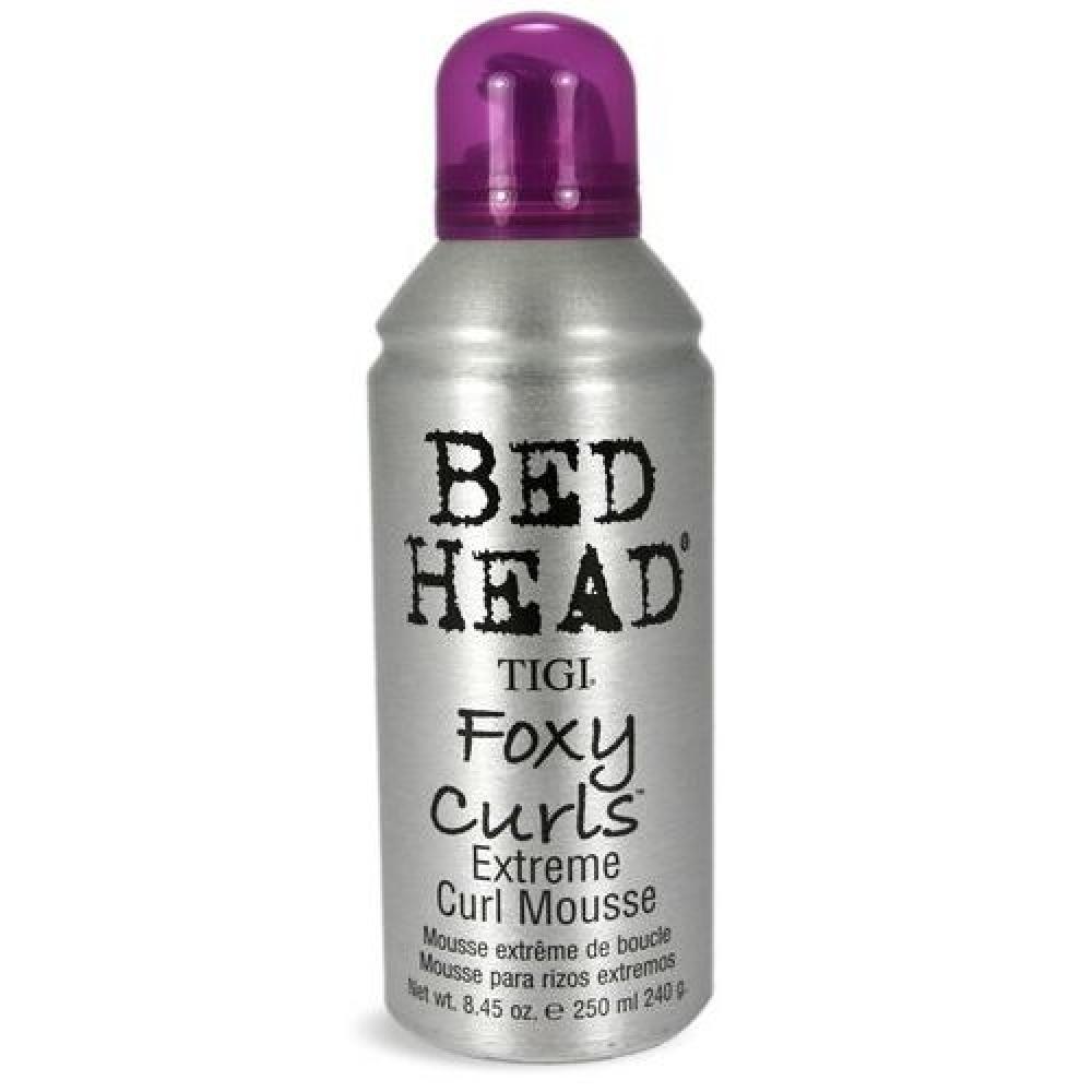 Tigi Bed Head Foxy Curls Extreme Curl Mousse 200ml (Pěna pro vlnitý účes)