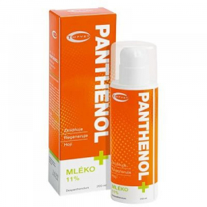 TOPVET Panthenol + Mlieko 11% 200 ml