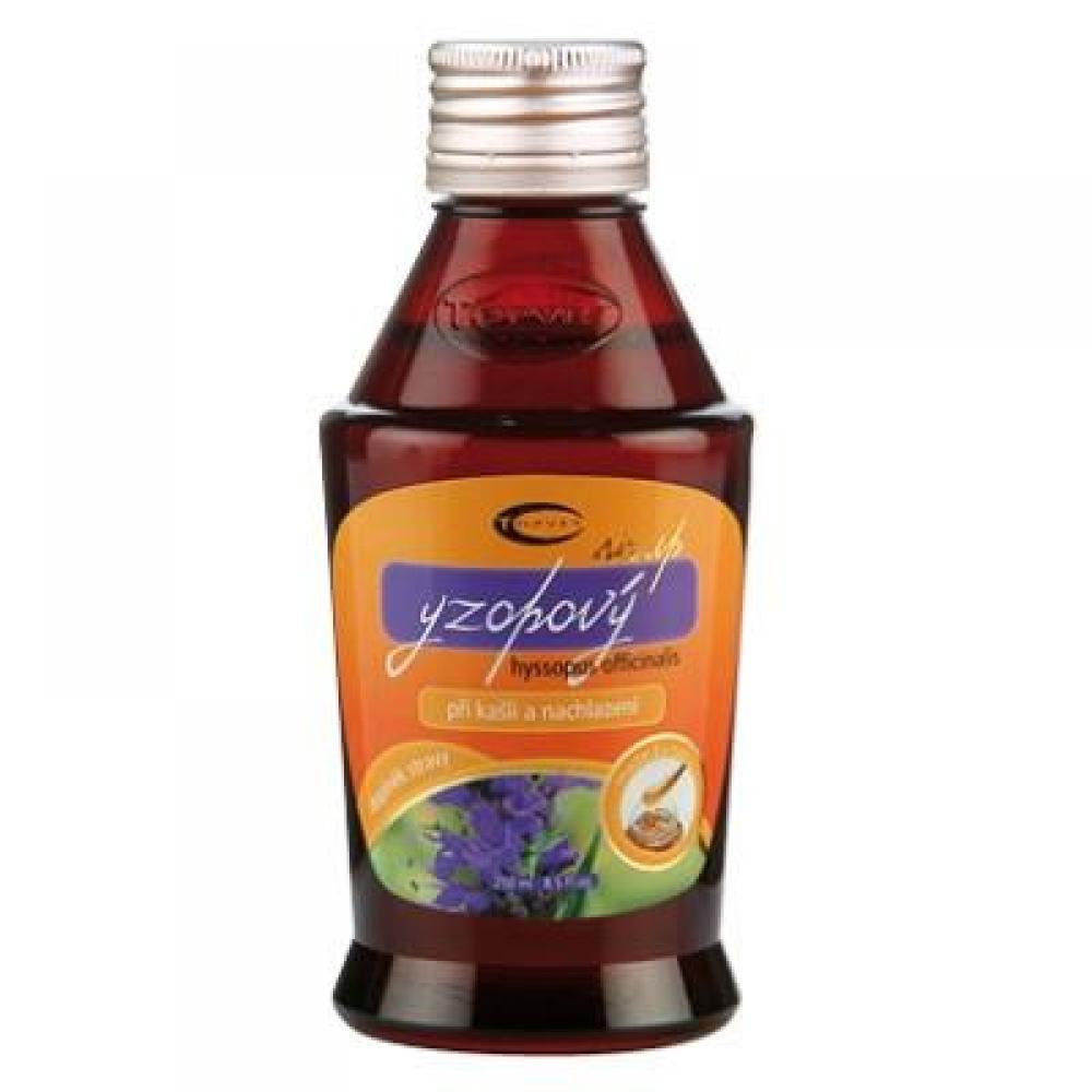 TOPVET Yzopový sirup 250 ml