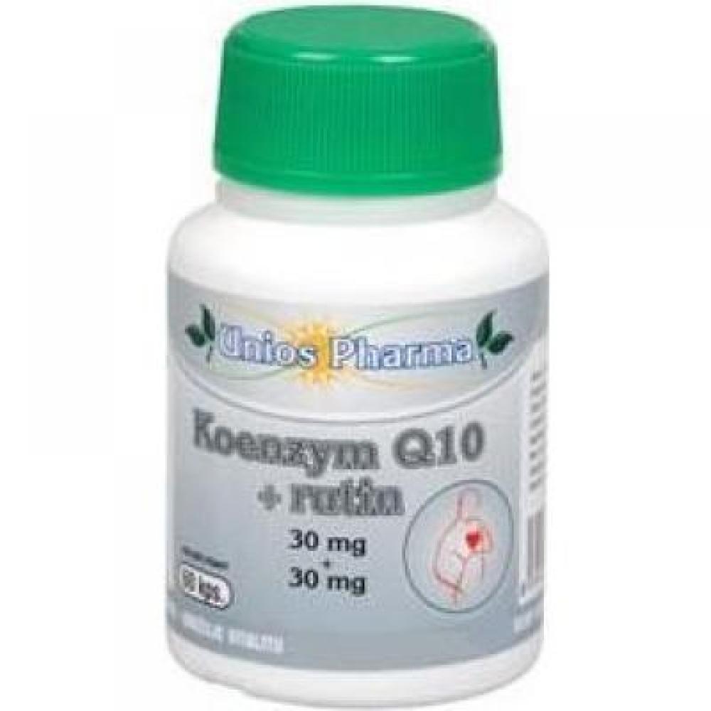 Uniospharma Koenzým Q10 30mg + rutín