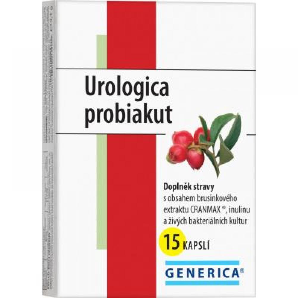 GENERICA Urologica probiakut 15 kapslí