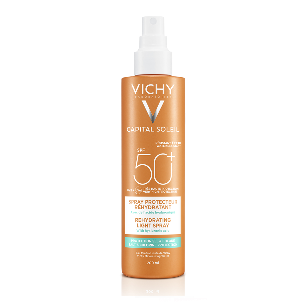 VICHY Capital Soleil Sprej BEACH SPF 50 200 ml