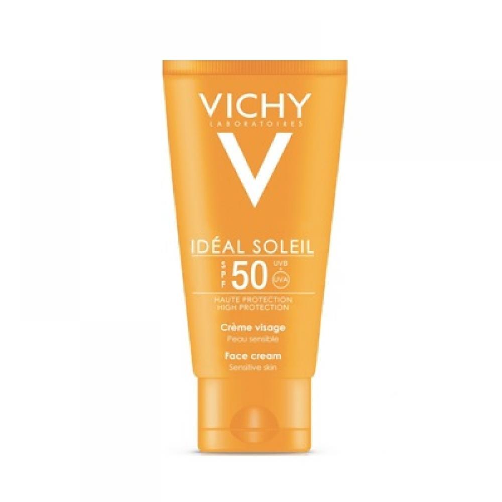 VICHY Idéal Soleil ochranný krém na tvár SPF 50+ 50 ml