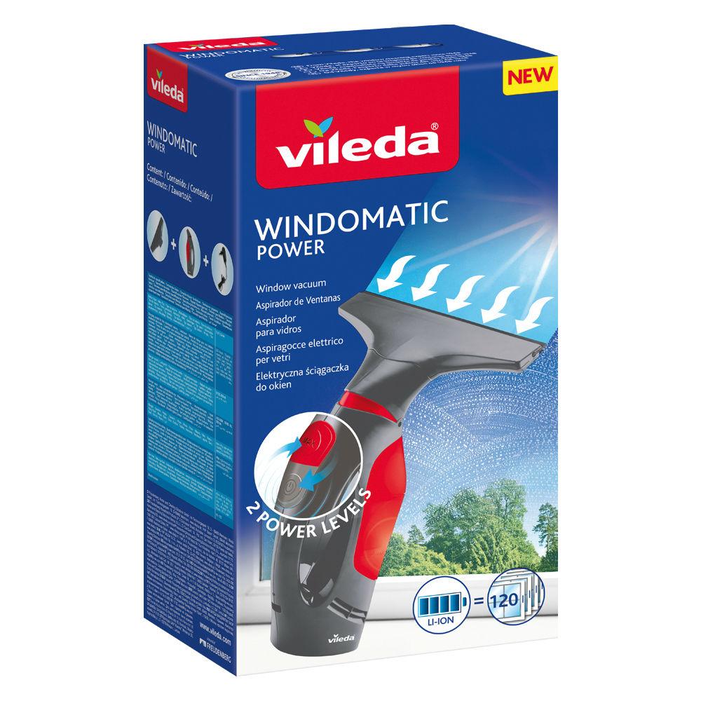 VILEDA Windomatic Power Boost Vysávač na okná s extra sacím výkonom