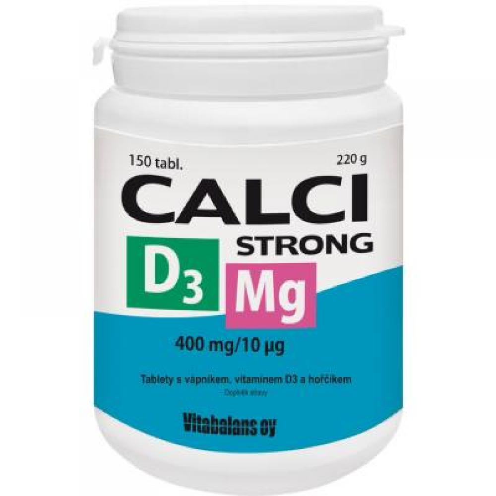 VITABALANS CALCI STRONG+Mg+D3 150tbl
