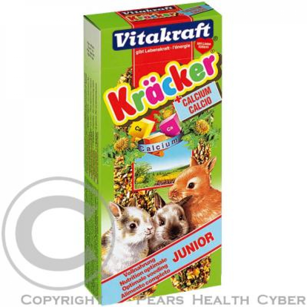 Vitakraft Kracker králik junior calcium 2 ks