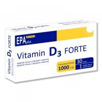 Vitamín D3 forte 1000 IU EPA plus 30 tablet