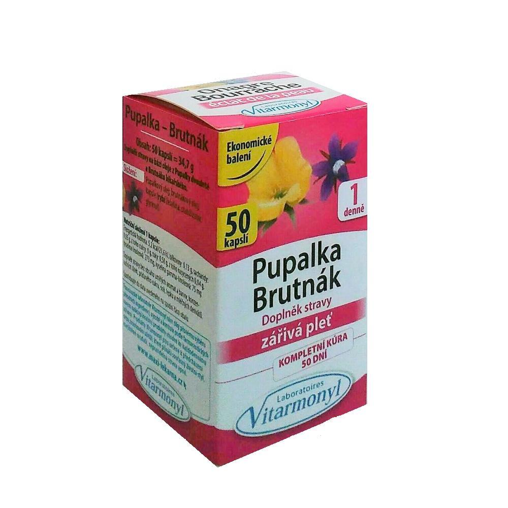 Pupalka a Borák 710 mg 30 kapslí