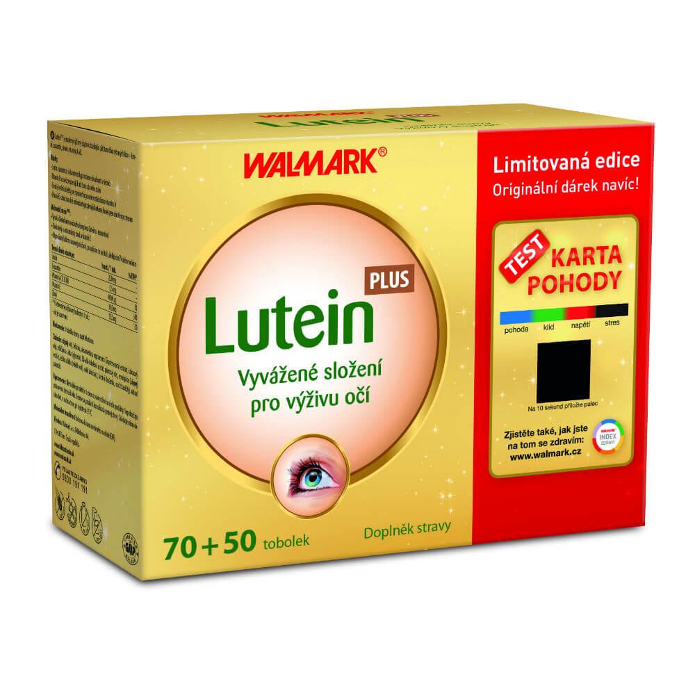 WALMARK Darčekové balenie Luteín Plus 70 + 50 kapsúl