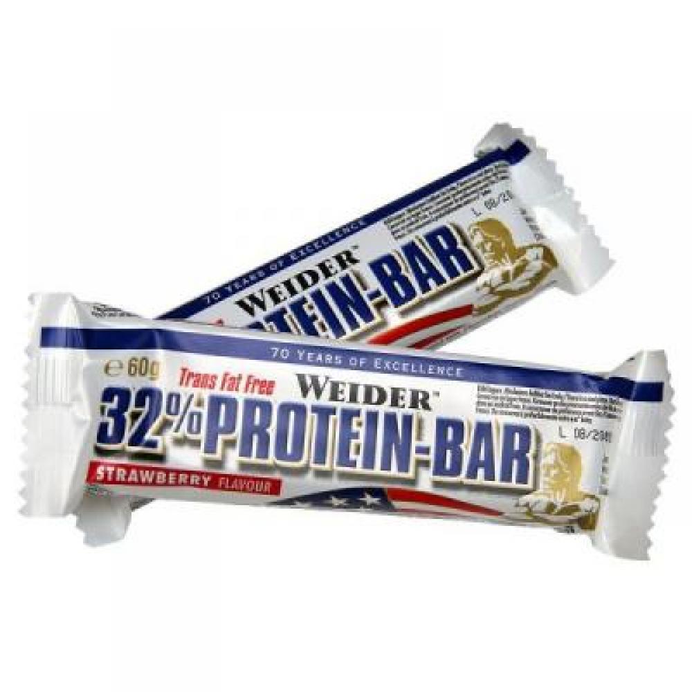 32% Protein Bar, proteínová tyčinka, 60 g, Weider - Banán