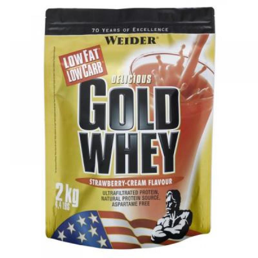 Gold Whey, srvátkový proteín, Weider, 2000 g - Banán