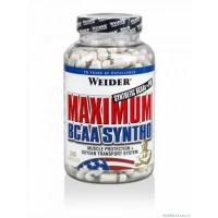 Maximum BCAA Syntho, Weider, 240 kapslí