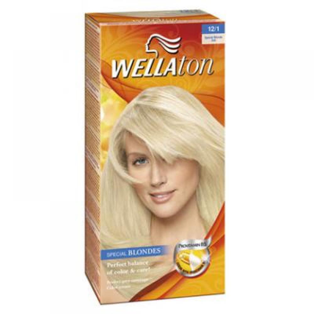 Wellaton farba na vlasy 121 popolavá blond