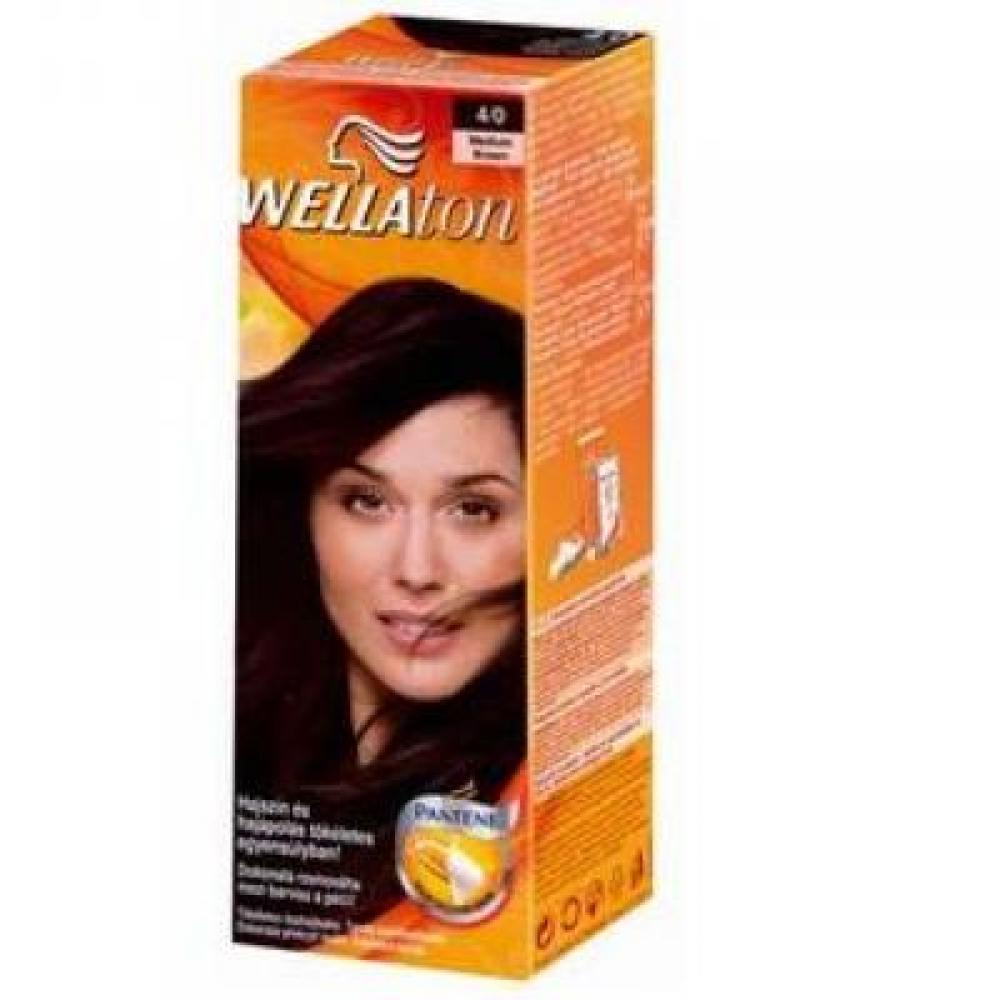 Wellaton farba na vlasy 40 stredne hneda