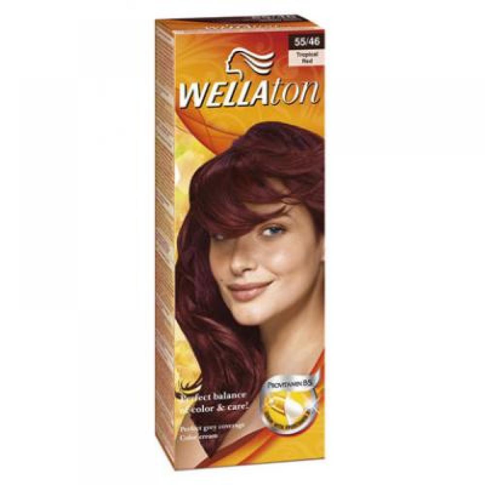 Wellaton farba na vlasy 5546 exotic červená