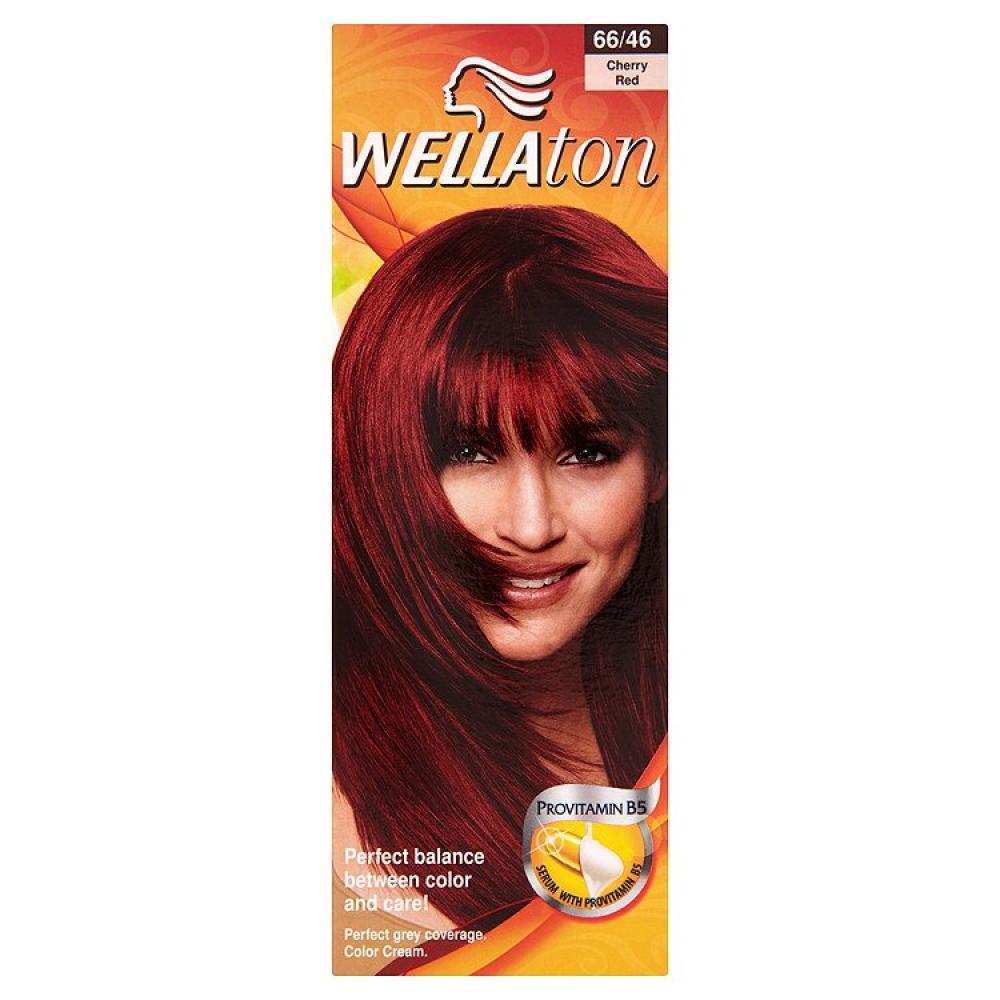 Wellaton farba na vlasy 6646 červená čerešňa