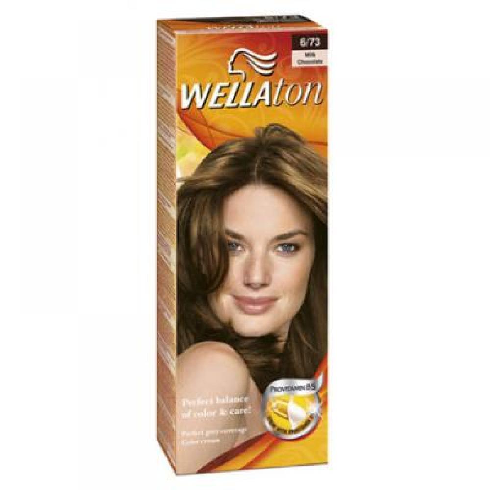 Wellaton farba na vlasy 673 mliečna čokoláda