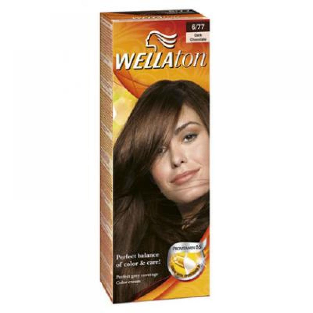 Wellaton farba na vlasy 677 tmavá čokoláda
