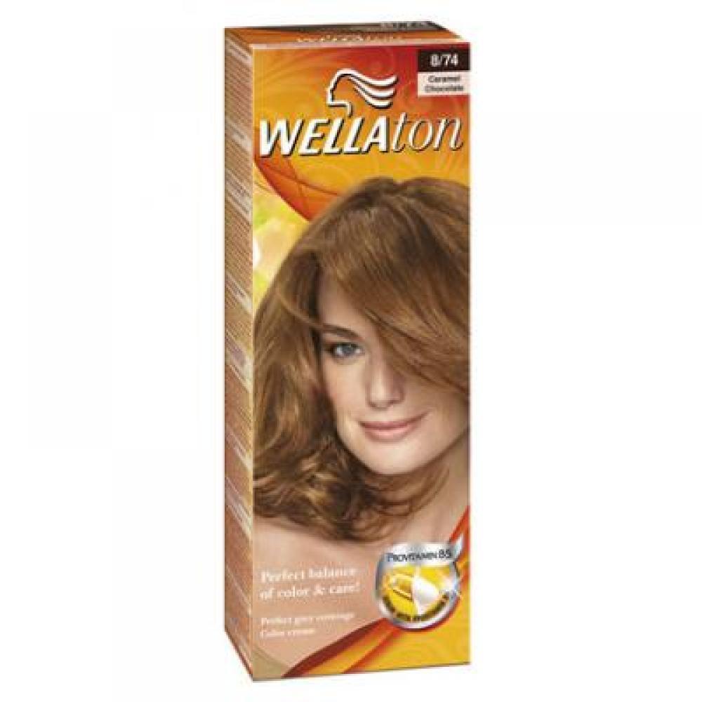Wellaton farba na vlasy 874 karamel čokoláda