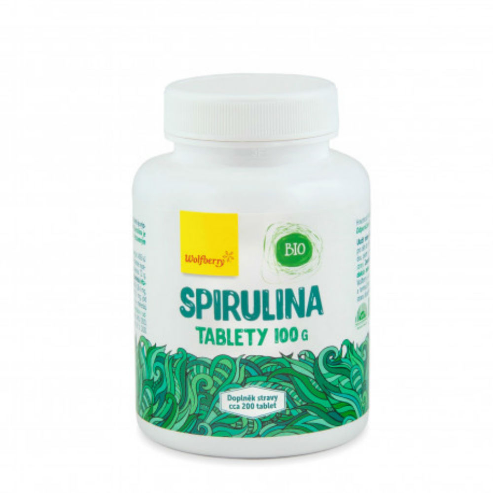 WOLBERRY Spirulina 500 tablet BIO