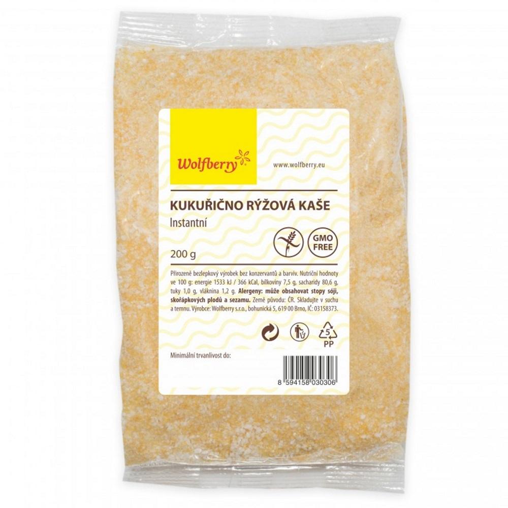 Wolfberry Kukurično-ryžová kaša 200 g