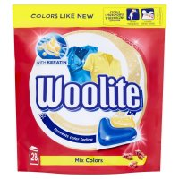Woolite Mix Colors gélové kapsule 28 ks