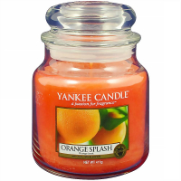 YANKEE CANDLE Orange Splash Classic stredná 411 g