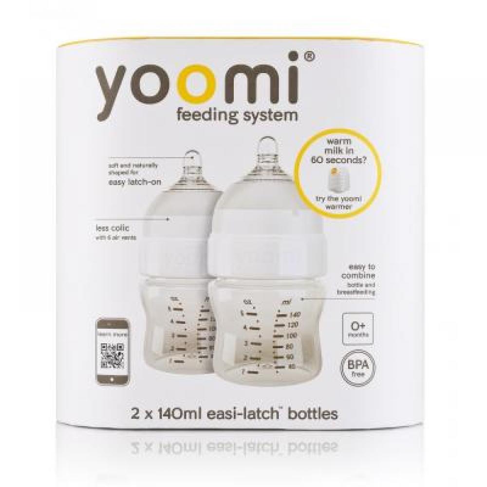 yoomi 2 x 140 ml dojčenská fľaša - bez ohrievača - MojaLekáreň.sk 1e0691cd70b